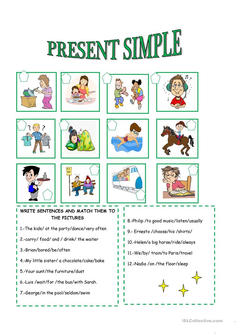 Ppt Simple Present Tense : simple, present, tense, SIMPLE, PRESENT, TENSE, English, Worksheets, Distance, Learning, Physical, Classrooms