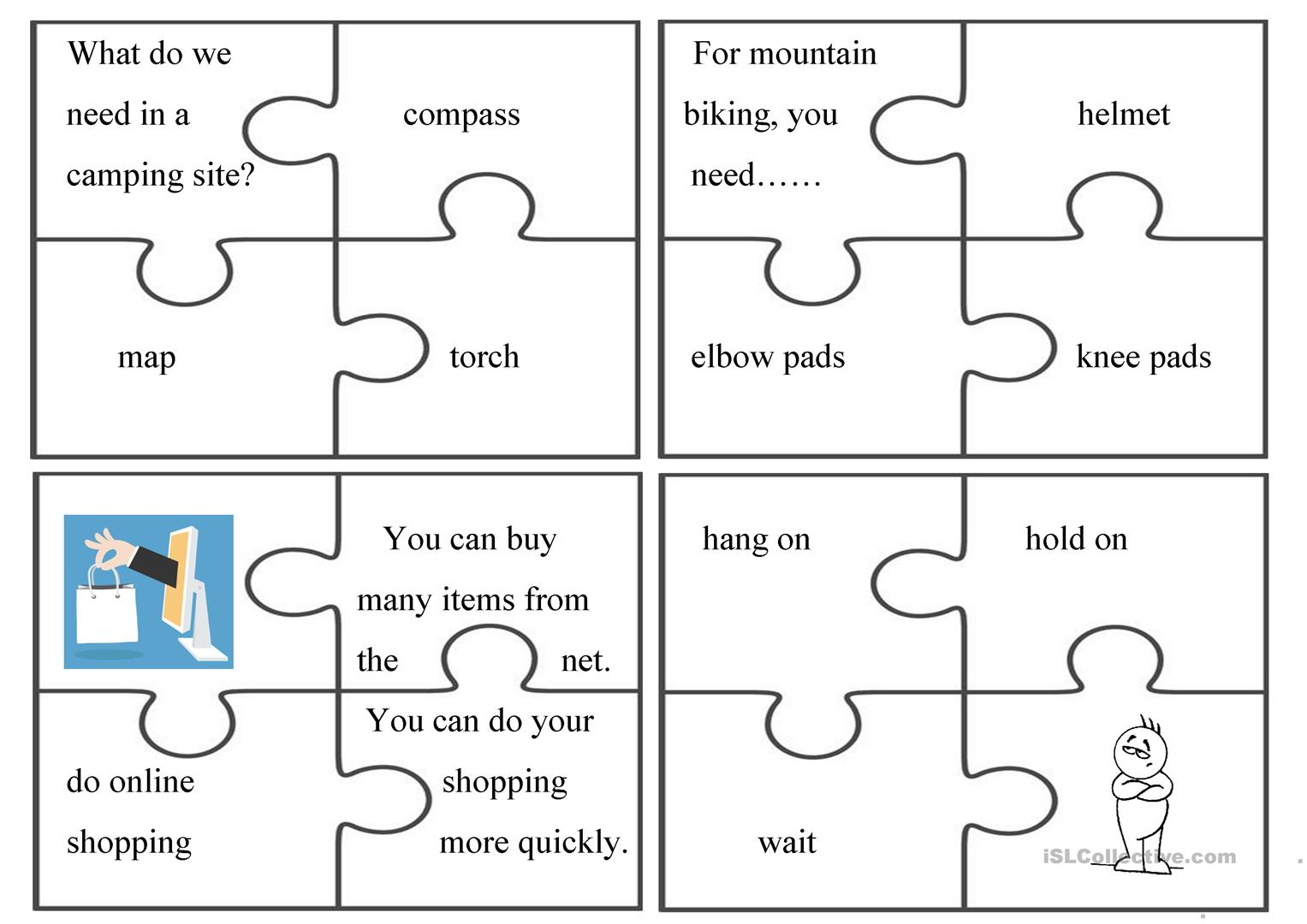 Puzzle Fun Group Activity