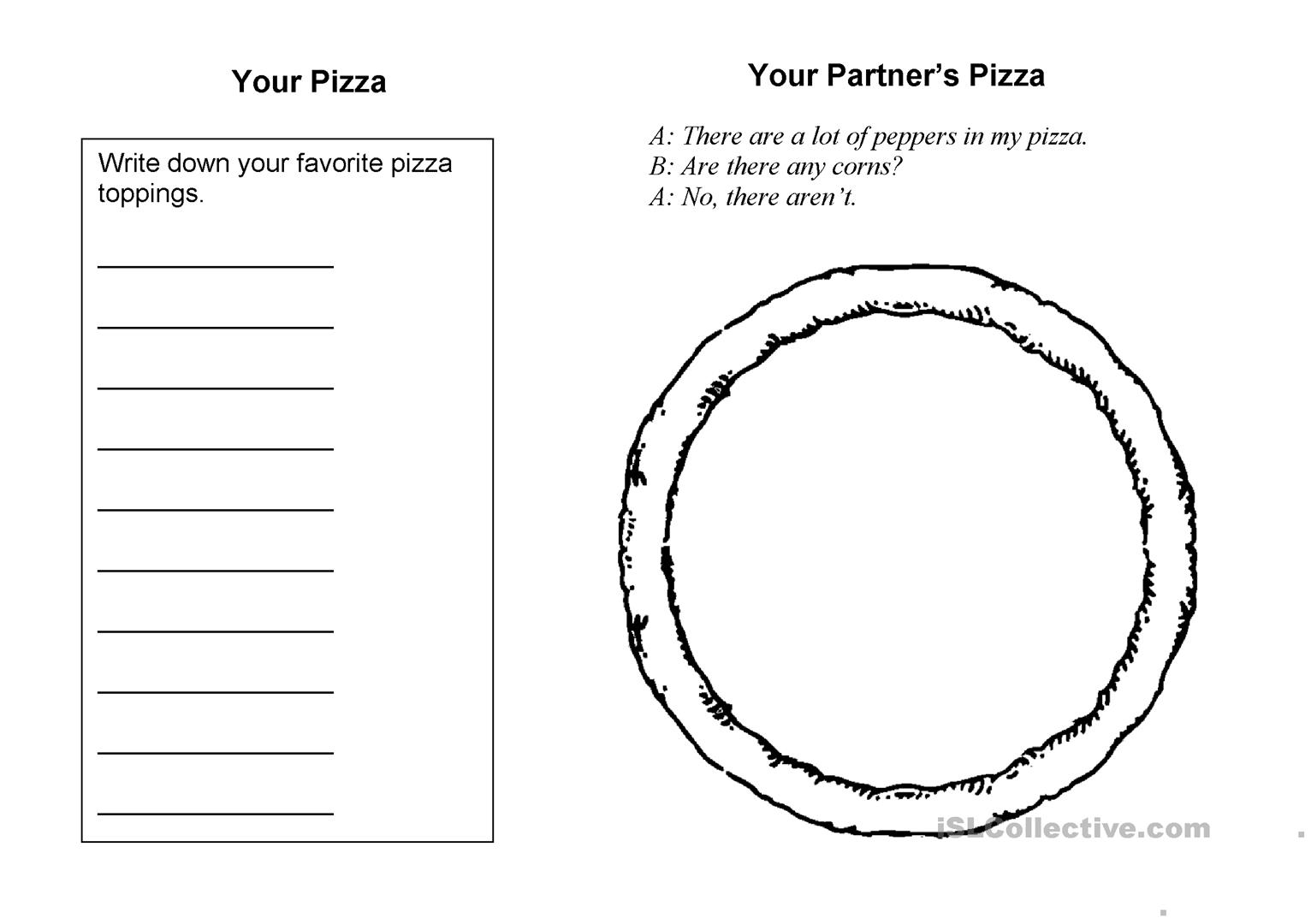 Make Your Pizza