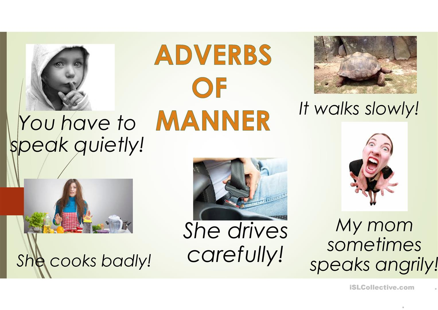 hight resolution of ADVERBS OF MANNER - English ESL Powerpoints for distance learning and  physical classrooms