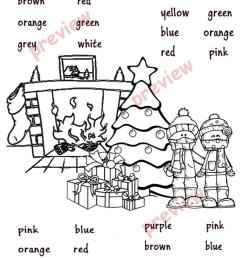Christmas Coloring pages - English ESL Worksheets for distance learning and  physical classrooms [ 1079 x 763 Pixel ]