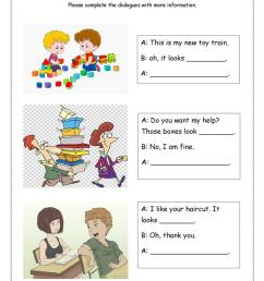 Look + adjective dialogues - English ESL Worksheets for distance learning  and physical classrooms [ 1079 x 763 Pixel ]