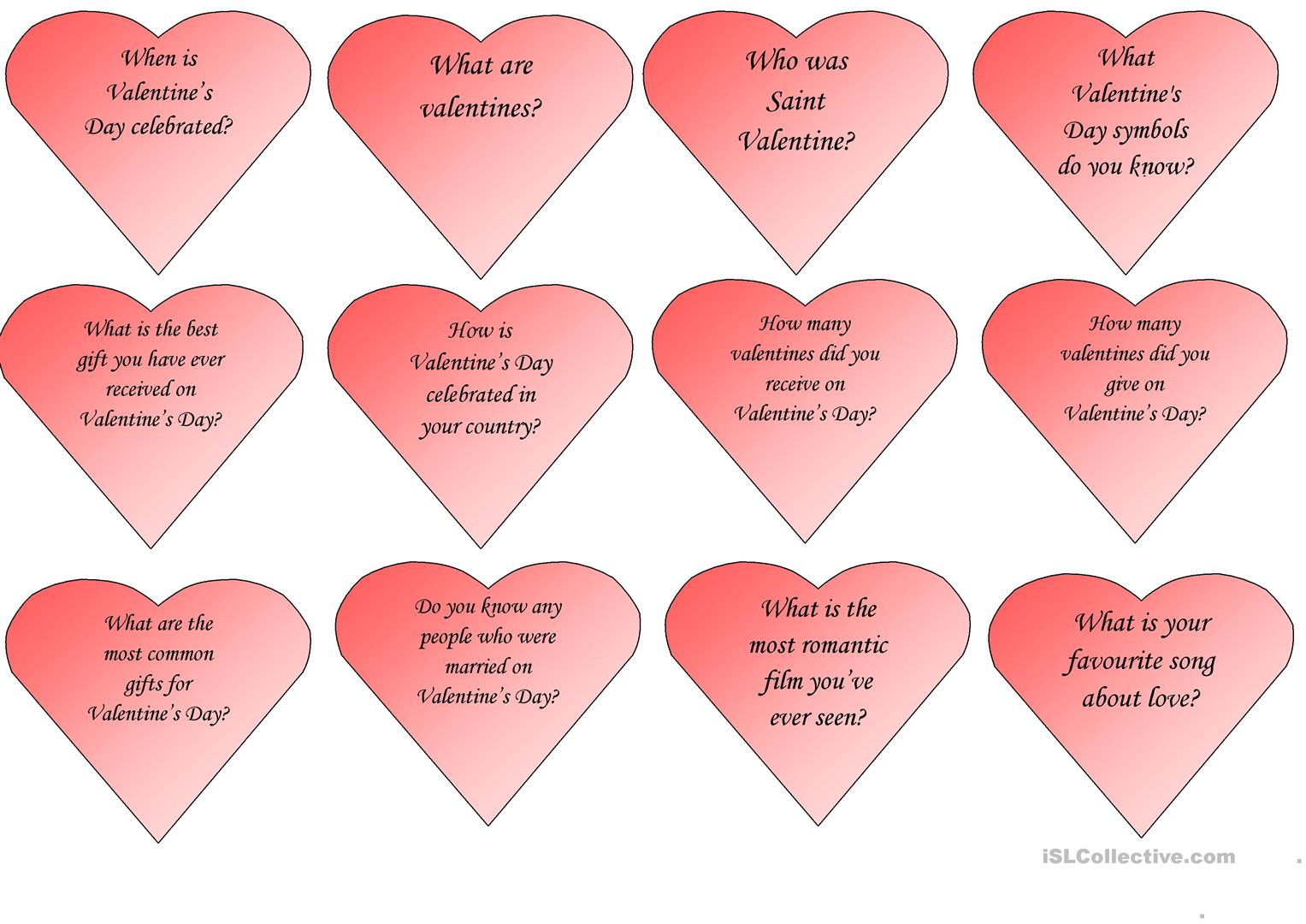 Valentine S Day Speaking Cards