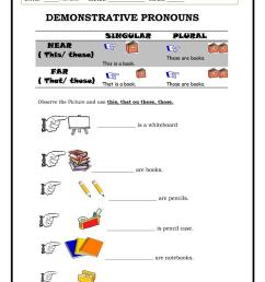 Demonstratives - English ESL Worksheets for distance learning and physical  classrooms [ 1079 x 763 Pixel ]