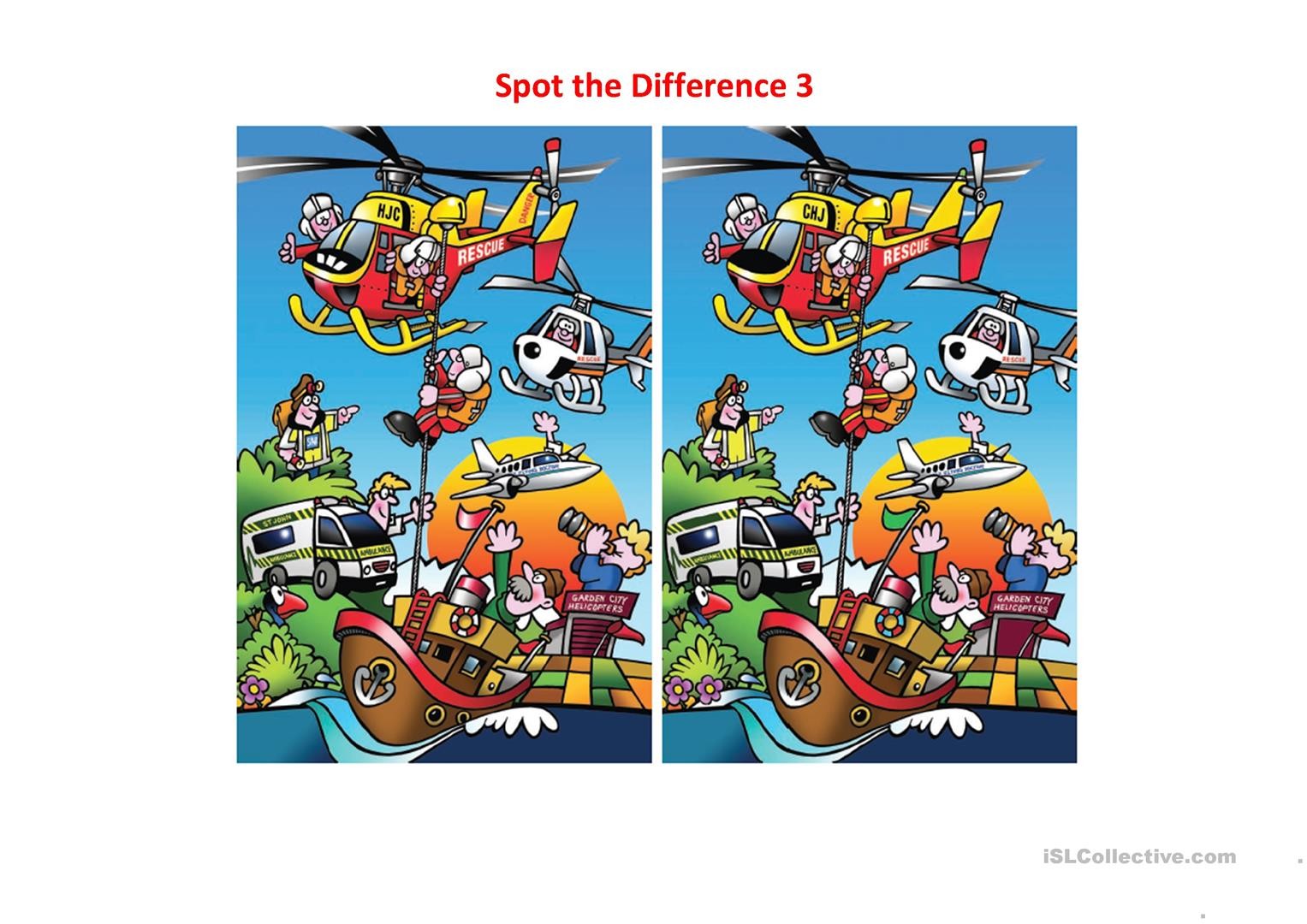 Spot The Difference 3