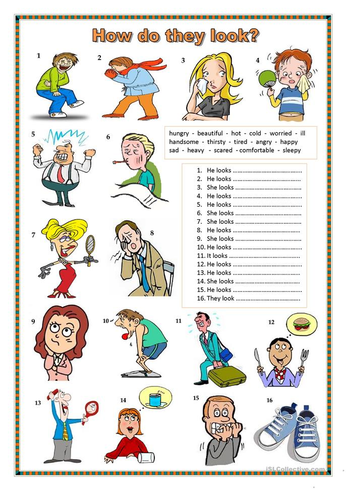 How Do They Look? Worksheet  Free Esl Printable Worksheets Made By Teachers