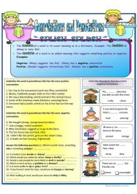 All Worksheets  Connotation And Denotation Worksheets For ...