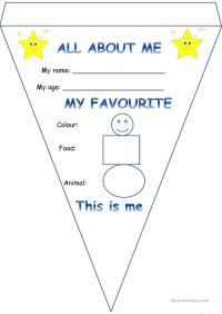 student all about me worksheet - 28 images - all about me ...