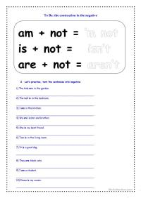 2nd Grade  Contraction Worksheets 2nd Grade - Printable ...