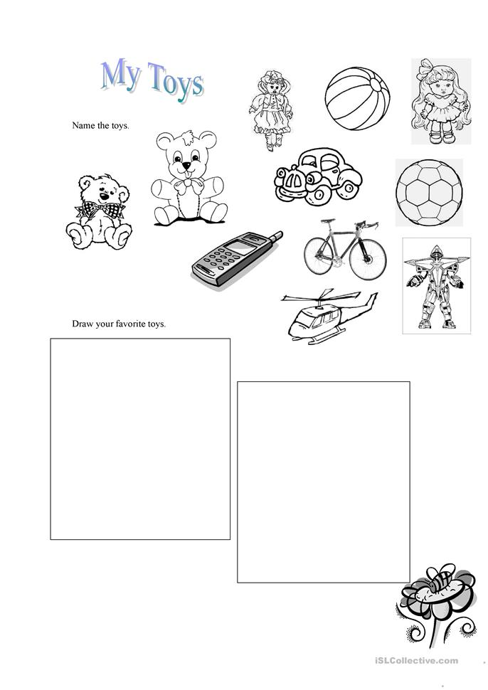 My first Reading Writing and Listening Practice worksheet