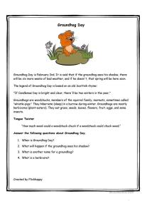 8 FREE ESL groundhog worksheets