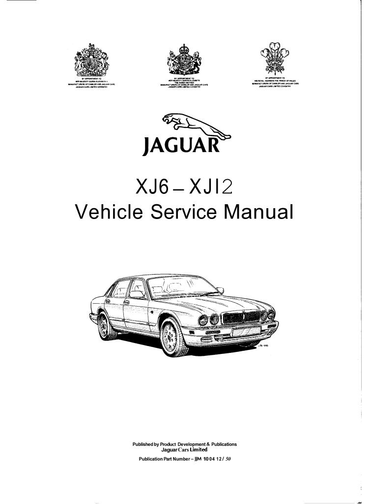 jaguar x300 xj6 service manual.pdf (17.3 MB)