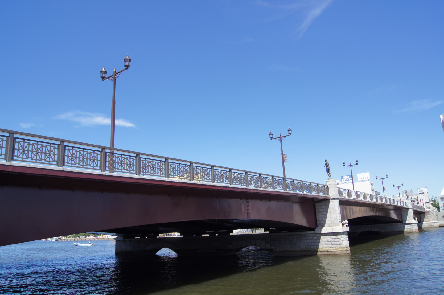 Nusamai Bridge and the Kushiro River banks were the main locations where the movie Banka was filmed