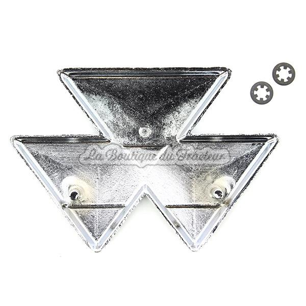 Emblème frontal Massey Ferguson 35, 35X, 37, 42, 835 (OEM