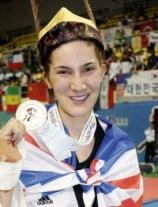 Sarah Diana Stevenson, Great Britain, -67 Kg.