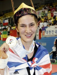 Sarah Diana Stevenson, Great Britain, -67 Kg.