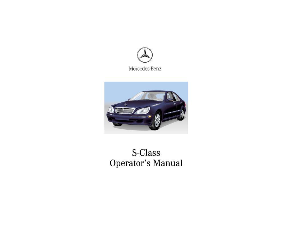 w220 s class users manual 2002.pdf (20.7 MB)
