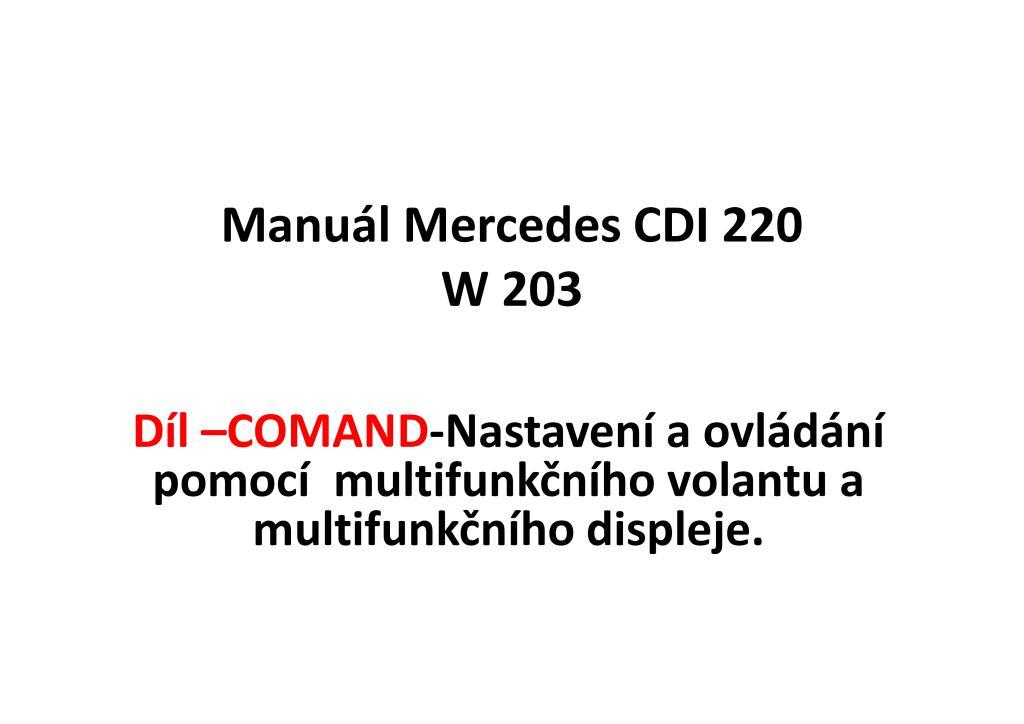 c203 comand multifunkcni displej volant.pdf (7.9 MB)