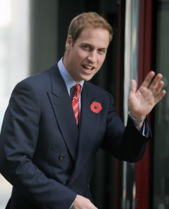 Prince Williams is expected in the Falklands during the period February/March 2012