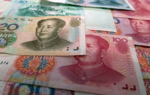 The biggest currency loser in all of this is the Chinese Yuan (RMB), which has fallen to its lowest value against the dollar in over a decade this year. Image: Pixabay