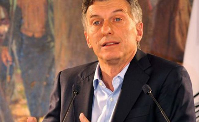 Argentina Macri Suggests To The Broad Front An Agreement