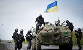 RUSSIA URGES TERMINATION OF VIOLENCE IN UKRAINE