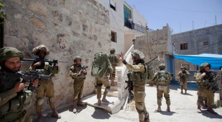 ZIONIST FORCES STEP UP CRACKDOWN IN PALESTINIAN CITIES