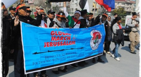 GLOBAL MARCH TO JERUSALEM LAUNCHED IN GAZA
