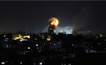 75 PERCENT GAZA CITY WITHOUT ELECTRICITY AFTER ISRAELI STRIKES