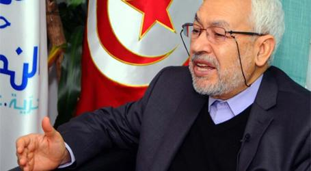 GHANNOUCHI CALLS ON THE FREE PEOPLE OF THE WORLD TO STAND WITH THE PALESTINIANS