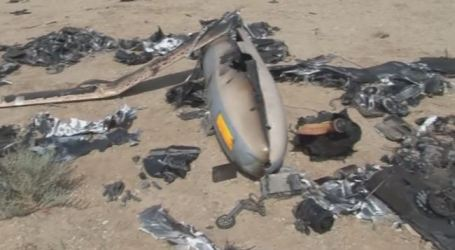 IRAN RELEASES PICTURES OF DOWNED ISRAELI 'HERMES' DRONE