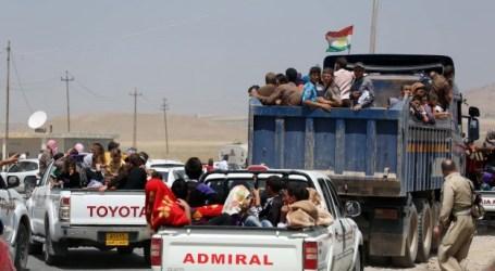 THOUSANDS FLEE IRAQ'S SINJAR AMID FRESH ISIL ADVANCES