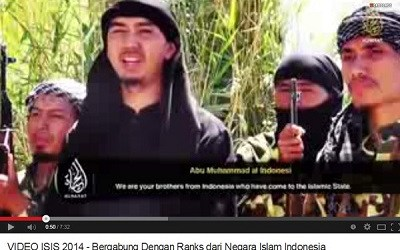 INDONESIANS WARNED OF ISIS INFILTRATION