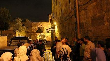 CHIEF RELIGIOUS JUSTICE WARNS AGAINST 'MASSACRES' IN AL-AQSA