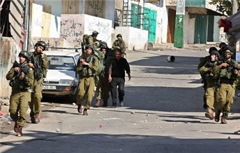 ISRAELI FORCES DETAIN SEVEN IN NABLUS REFUGEE CAMP