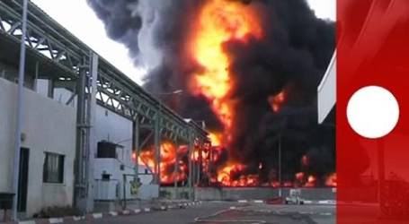 GAZA'S ONLY POWER PLANT READY TO WORK PENDING FUEL SUPPLY