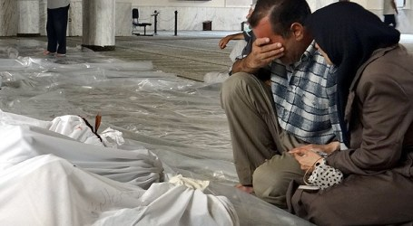 TURKEY URGES UN TO ACT OVER CHLORINE GAS USE IN SYRIA