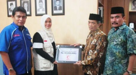 AL AZHAR INDONESIA DONATES FRESH MONEY TO INDONESIAN HOSPITAL IN GAZA
