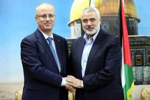HAMDALLAH VISITS ISRAELI FAILURE SCATTERING PALESTINIANS