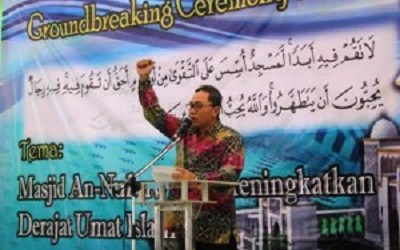 MPR CHAIRMAN: AN-NUBUWWAH MOSQUE EXPECTED TO BE THE CENTER OF ISLAMIC CIVILIZATION
