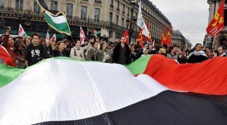 FRANCE MULLS RECOGNIZING A PALESTINIAN STATE