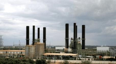 GAZA POWER PLANT STOPS WORKING AT FULL CAPACITY