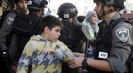 MORE THAN 10.000 PALESTINIAN CHILDREN NABBED SINCE 2000
