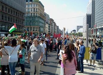 EUROPEAN CAMPAIGN IN SOLIDARITY WITH GAZA LAUNCHED