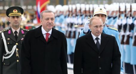 TURKEY, RUSSIA AGREE ON BATTLING TERROR IN SYRIA