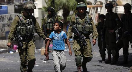 PPS: Israel Detained +6.000 Children Since 2015