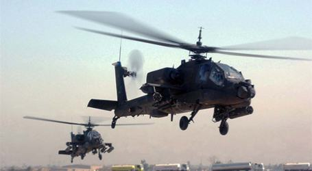 EGYPT RECEIVES 10 APACHE HELICOPTERS FROM US