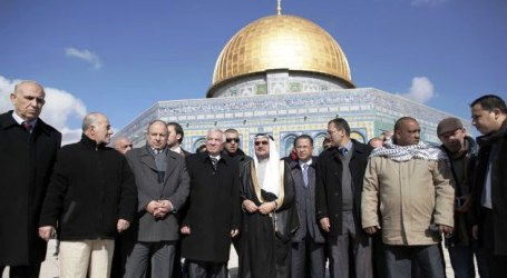 OIC HEAD VISITS AL-AQSA MOSQUE