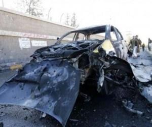 CAR BOMB IN YEMEN CAPITAL LEAVES DOZENS KILLED, WOUNDED