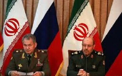 RUSSIA AND IRAN SIGN MILITARY COOPERATION DEAL